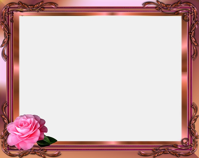 Picture Frame Design Pink  Free image on Pixabay