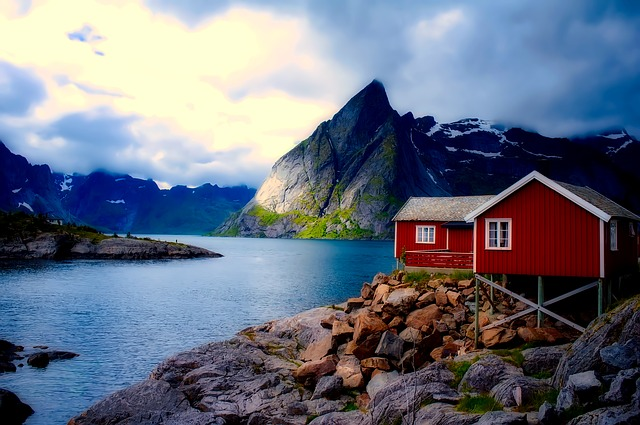 Free Fall Wallpaper Images Norway Cottage House 183 Free Photo On Pixabay