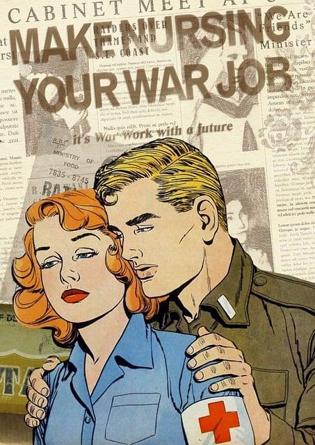 Nurse War Retro  Free image on Pixabay