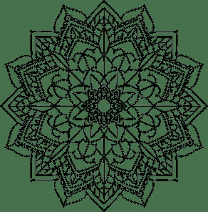Floral Flor Mandala · Gráfico vetorial grátis no Pixabay