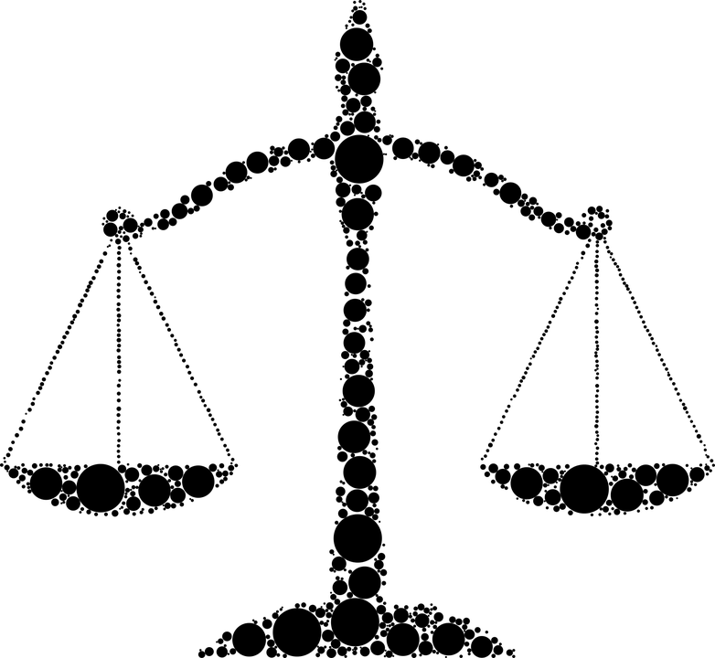 justice scales law free
