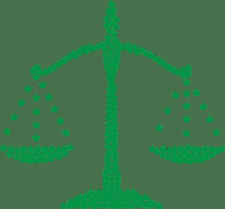 Marijuana, Scales, Legalization, Drugs, Silhouette