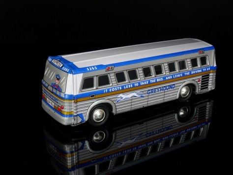 Greyhound, Bus, Toys, Sheet, Tin Toys, Model, Model Car