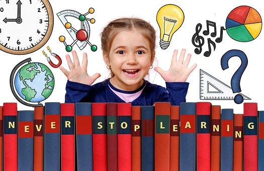 School, Learning, Graphic, Design, Girl