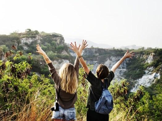 Libertà, Viaggio, Escursioni A Piedi, Insieme, Amici