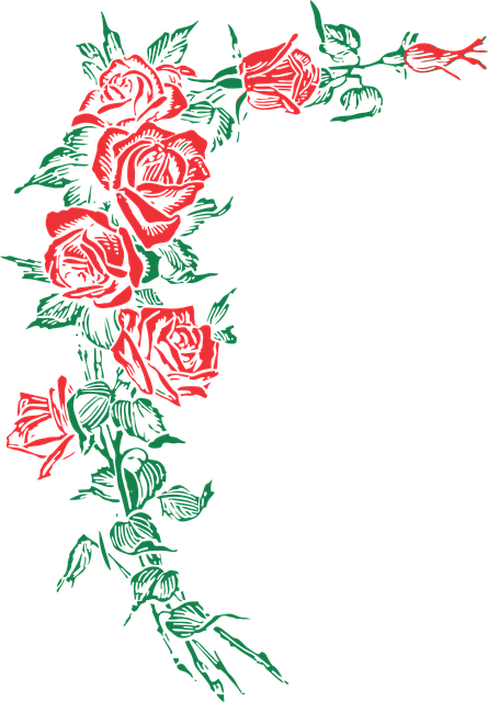 Rose Roses Floral  Free vector graphic on Pixabay