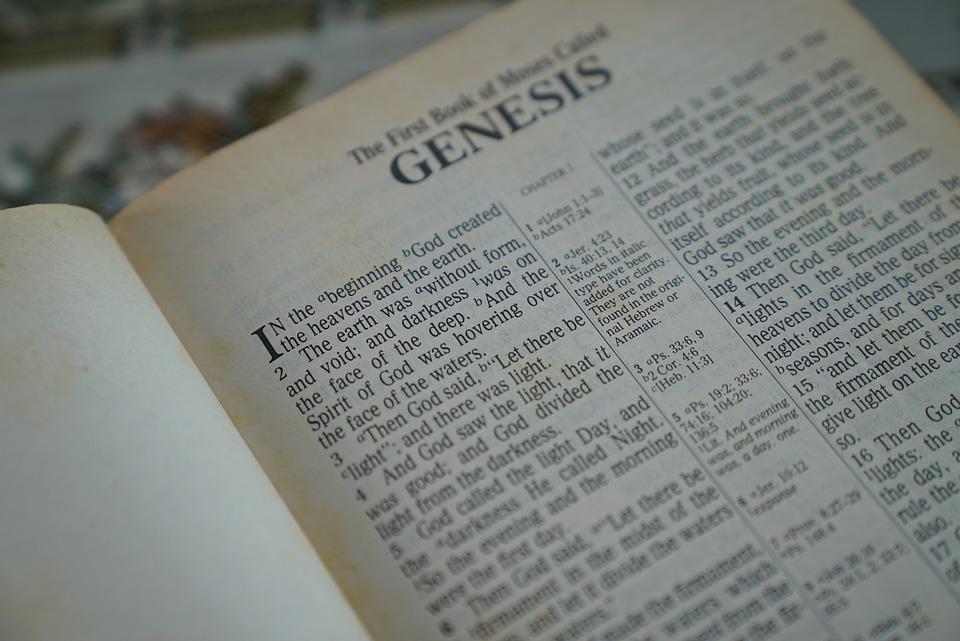Bible, Genesis, In The Beginning, Christian