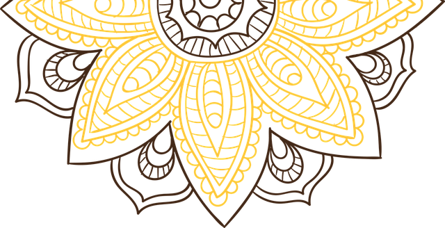 Free Illustration Mandala Pattern Vintage Fancy Free