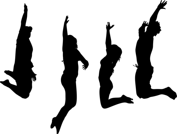 Jumping People Man Free vector graphic on Pixabay