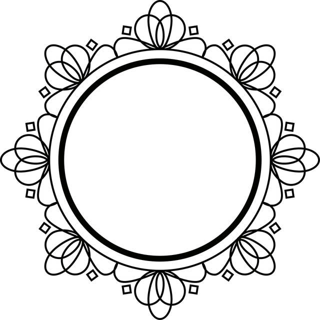 Ornament Stencil Printable