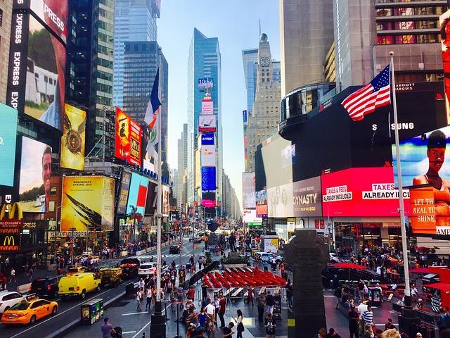 Times Square New York Free Photo On Pixabay