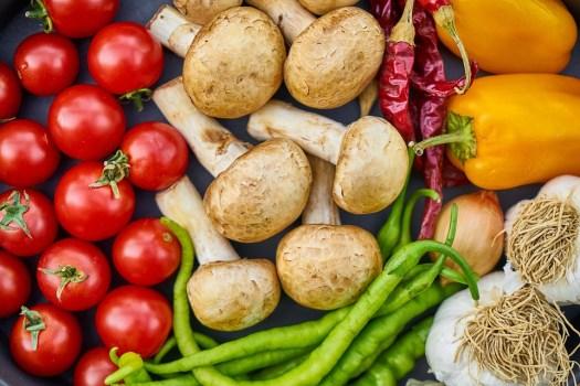 Funghi, Pomodoro, Piastra, Fornello, Rosso, Vegan