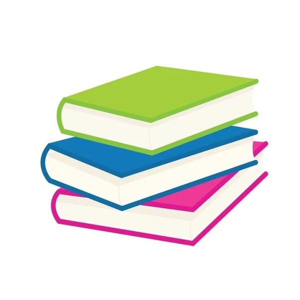 本, 読み取り, レッスン。, 小学校。, イラスト, 子供, Clipart, グラフィック, 教室。
