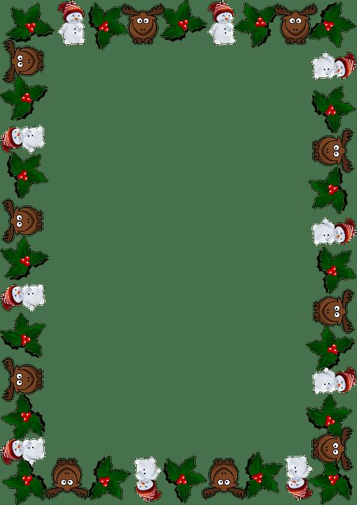 Frame Christmas Greeting Card Free Image On Pixabay