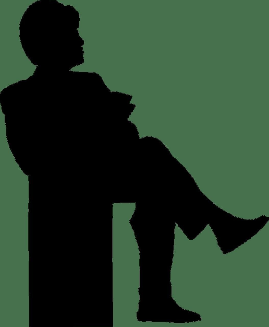 Orang Vector Png : orang, vector, Sitting, Vector, Graphic, Pixabay