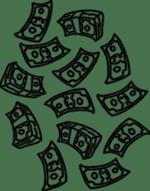 Money Dollars Raining Falling · Free vector graphic on Pixabay