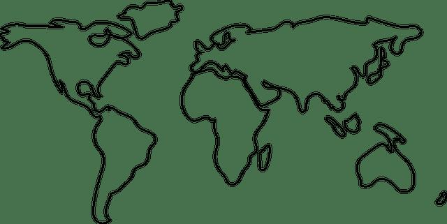 Mapa Mundo Mundi · Gráfico vetorial grátis no Pixabay