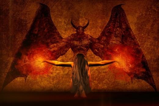 暗い芸術, デーモン, 魔女, 火の玉, マジック, 書き込み, ラジオ, 悪魔, 奇妙な, モンスター