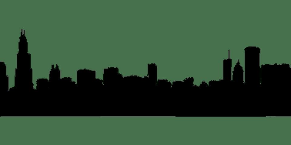 chicago skyline cityscape free