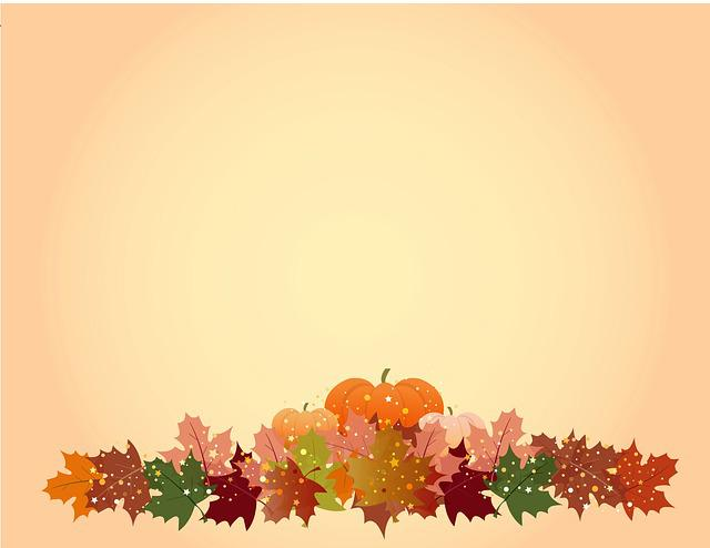 Fall Leaves Wallpaper Border Thanksgiving Background 183 Free Photo On Pixabay