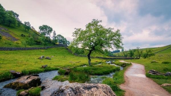 malham yorkshire dales landscape