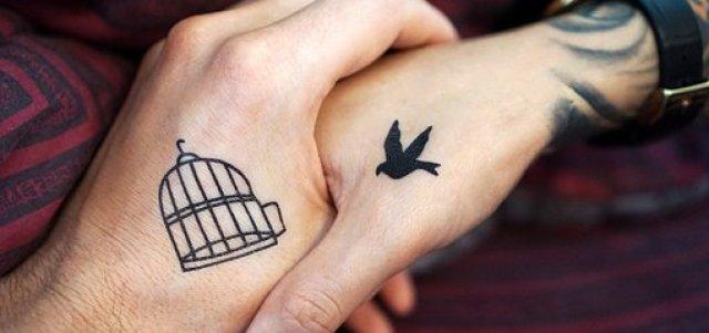 Tattoo, Hand, Hands, Couple