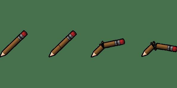 Pencil, Break, Writing, Education