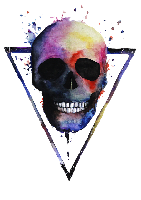 Cute Rabbit Wallpaper Skeleton Art Illustration 183 Free Image On Pixabay