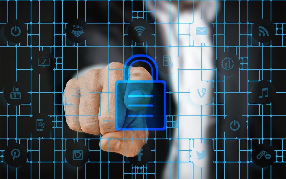 Security, Finger, Businessman, Binary, Binary Code