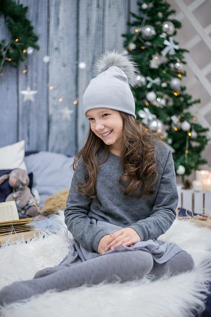 New Year S Eve Girl Smile 183 Free Photo On Pixabay
