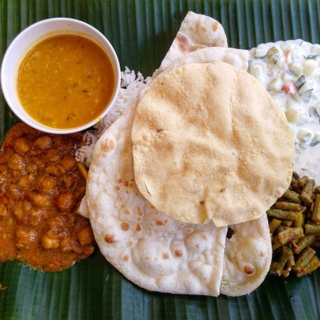 Alimentaire, Naan, Curry, Asie, Indien, Restaurant