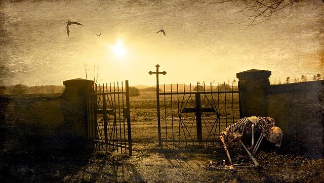 Rock Girl Wallpaper Fantasy Cemetery Skeleton 183 Free Photo On Pixabay