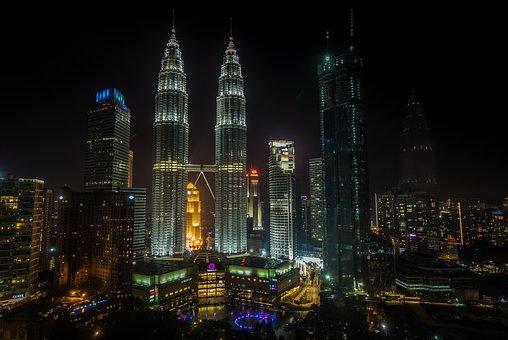 Kong Kuala, Malasia, Asia, Tower