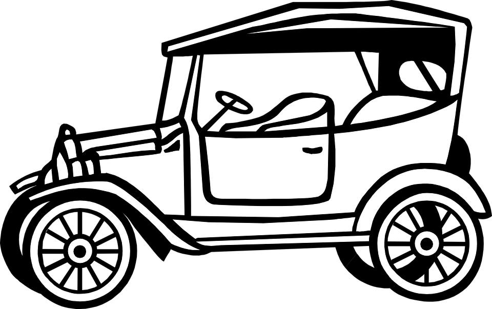 Vintage Car Automobile · Free vector graphic on Pixabay
