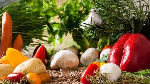 Verdure, Giardino, Funghi, Paprika, Alimentari