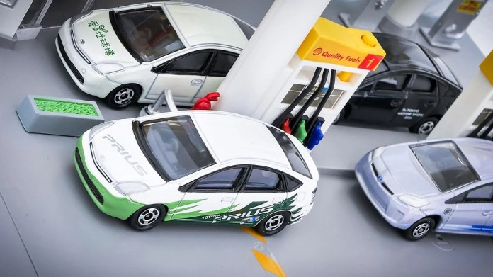 Prius - marketed as green car but actually greenwashed