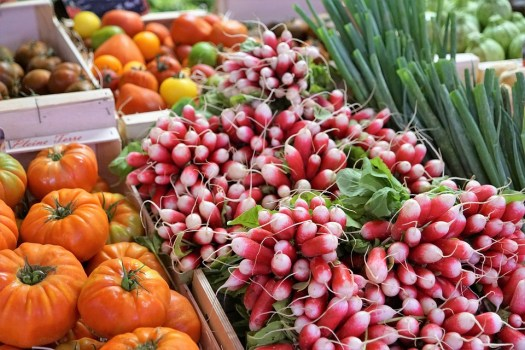 Ravanelli, Frutta, Verdure, Mangiare, Cibo, Mercato