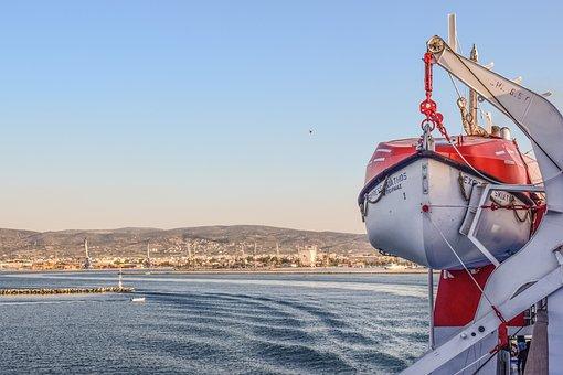 Life Boat, Ferry, Sea, Boat