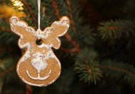 Peperkoek, Kerstboom, Branden, Glazuur, Kerstmis