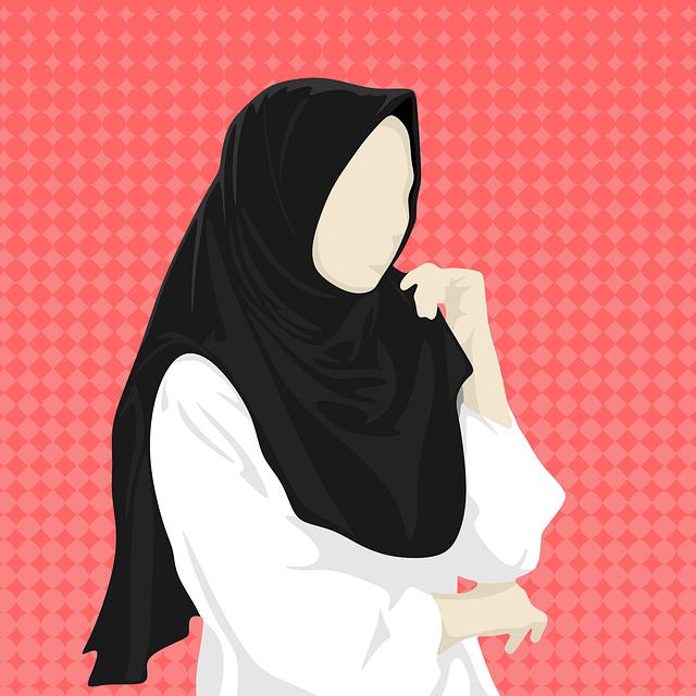 Hijab Jilbab Naisten  Ilmainen vektorigrafiikka Pixabayssa