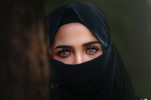 Hijab, Foulard, Ritratto, Velo, Donna, Occhio, Ragazza