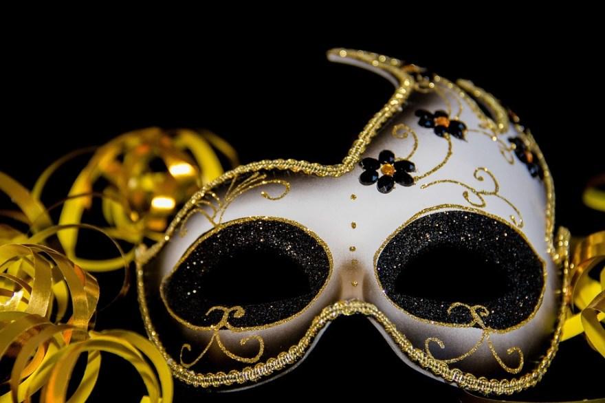 カーニバル, マスク, 仮面舞踏会, ベネチアン マスク, 秘密, ヴェネツィア, 神秘的です, お祝い