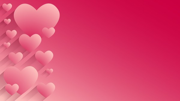 Gratis illustratie Achtergrond Harten Valentijnsdag