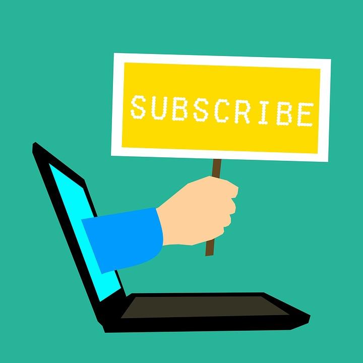 Subscribe, Registration, Register, Connection, Blogging
