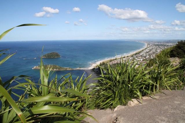 New Zealand, Mount Maunganui, View, Waters, Sea, Coast