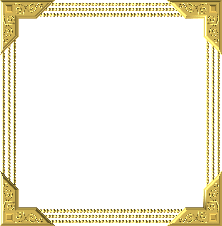 Gold Frame Square  Free image on Pixabay