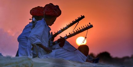Rajasthan, Camel, Safari, India, Sunset