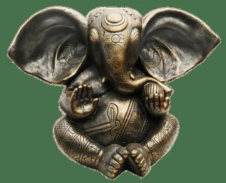 Ganesha, Metal Figure, Bronze