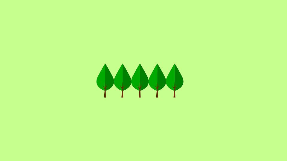 Minimalist Wallpaper Gravity Falls Trees Minimal Wallpaper 183 Free Vector Graphic On Pixabay