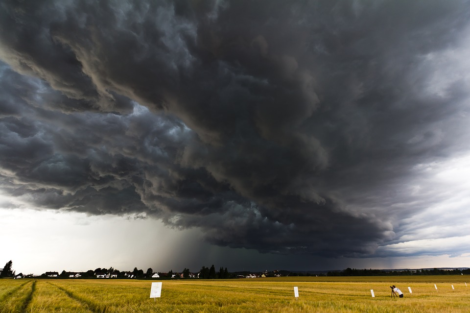 Ireland Fall Wallpaper A Thunderstorm Cell Stormy Sky 183 Free Photo On Pixabay